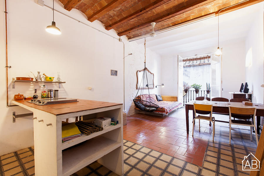 AB The Ramalleres Studio Apartment - Appartamento bohèmien nel Raval - AB Apartment Barcelona