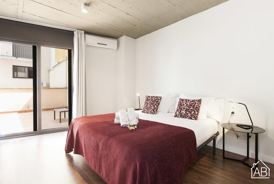AB Roma Executive Suites B - Modernes Apartment mit Gemeinschaftsterrasse in der Nähe von Plaça Universitat - AB Apartment Barcelona