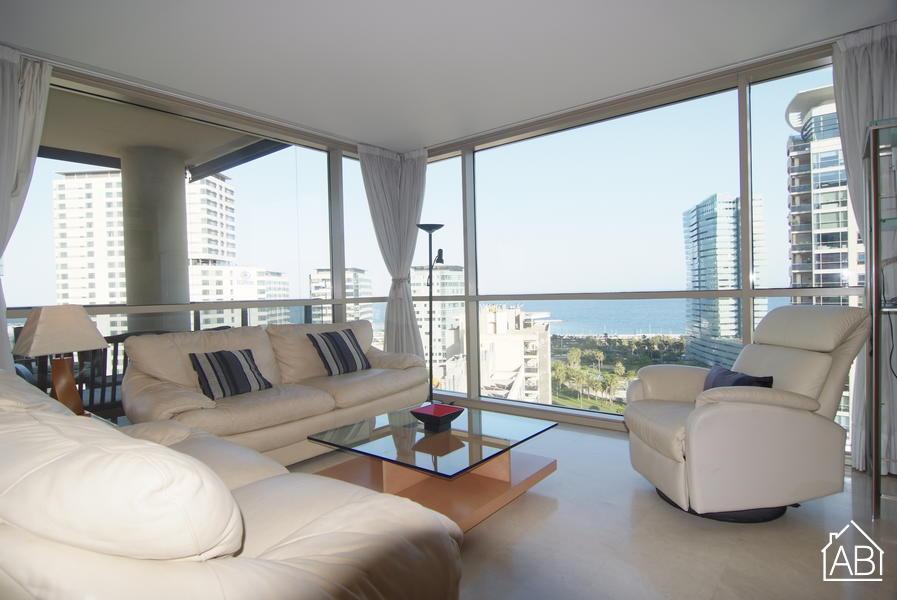 AB Illa del Llac Apartment - Apartamento fantástico con amplia terraza privada y piscina - AB Apartment Barcelona