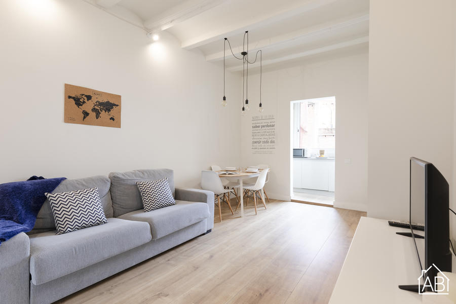 AB Vallespir - Les Corts Apartment - 新装修的两居室公寓靠近诺坎普  - AB Apartment Barcelona