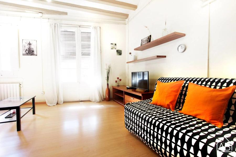 AB Botella - Sant Antoni Apartment - One bedroom apartment in Raval, near Sant Antoni Market - AB Apartment Barcelona