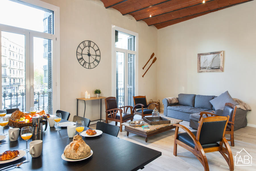 AB Plaza Catalunya Bliss - Large, 4 bedroom apartment for 10 people in central Barcelona - AB Apartment Barcelona