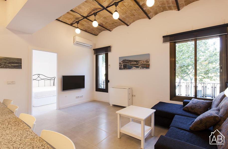 AB Barceloneta Paseo Juan Borbon - Apartamento de dos habitaciones en Barcelona con varias amenities  - AB Apartment Barcelona