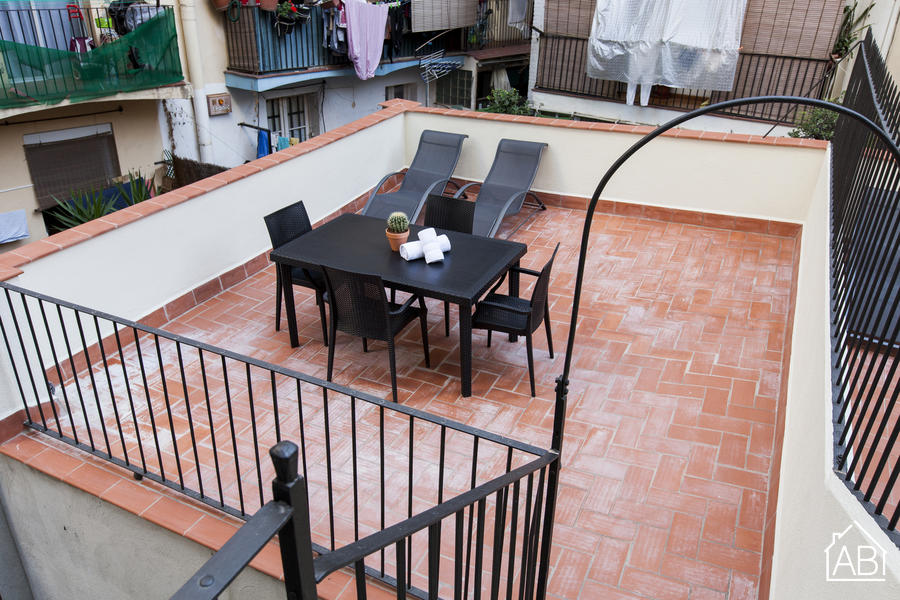 AB Margarit P-1 - Schönes 3-Zimmer Apartment mit privater Terrasse in Poble Sec - AB Apartment Barcelona