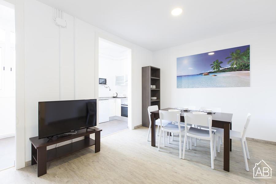 AB Nou de la Rambla 3-2 - Appartement moderne de 5 chambres à louer à Barcelone - AB Apartment Barcelona