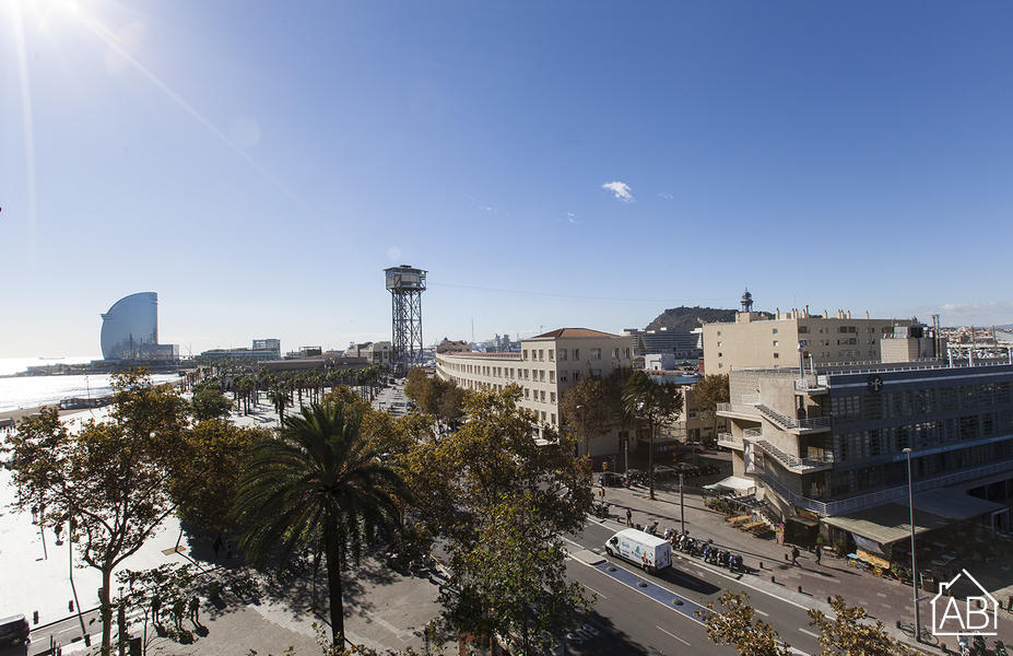 AB Barceloneta - Joan de Borbo Port Views II - 巴塞罗内塔迷人的三卧室公寓 - AB Apartment Barcelona