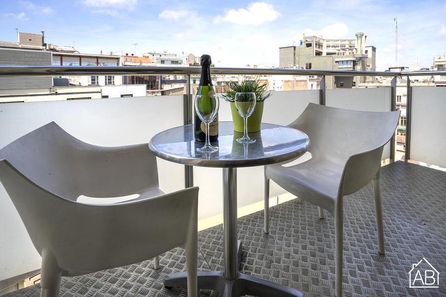 AB Plaça Catalunya - Appartement de Luxe avec Balcon, à quelques pas de la Plaça de Catalunya - AB Apartment Barcelona
