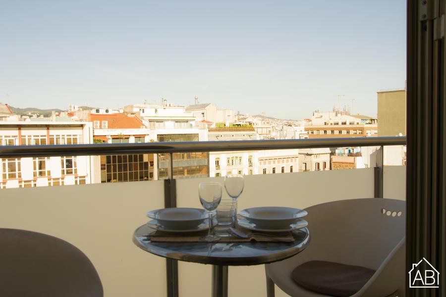 AB Plaça Catalunya 5-1 - Modieus appartement met een balkon, op een steenworp afstand van Plaça de Catalunya - AB Apartment Barcelona