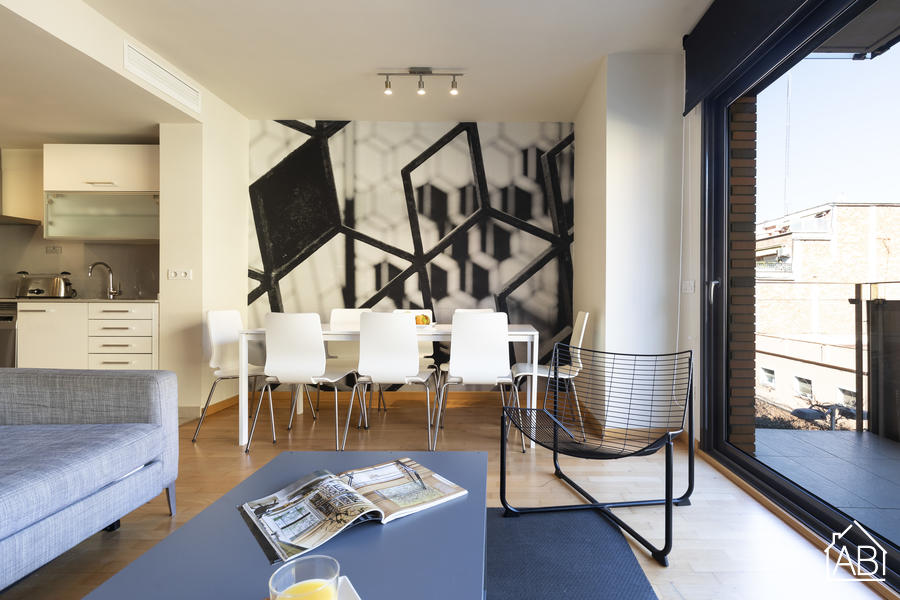 AB Park Güell Apartment 2-1 - Delightful 3-Bedroom Apartment near Park Güell with a Balcony and Communal Gym - AB Apartment Barcelona