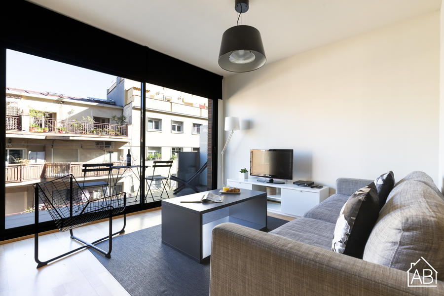 AB Park Güell Apartment 4-1 - Spacious 3-Bedroom Apartment near Park Güell with a Balcony and Communal Gym - AB Apartment Barcelona