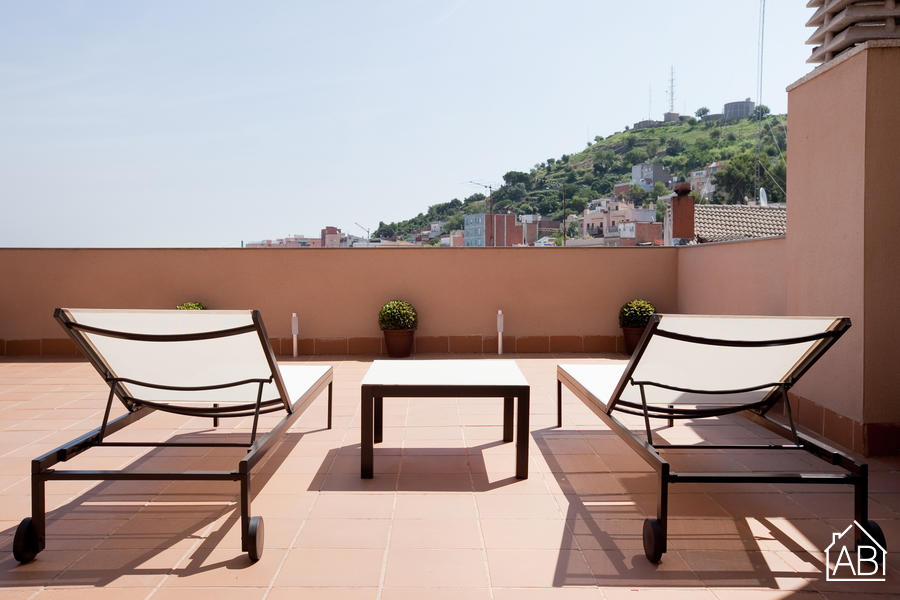 AB Park Güell Apartment 5-2 - Amazing 1-Bedroom Apartment near Park Güell with a Balcony and Communal Gym - AB Apartment Barcelona