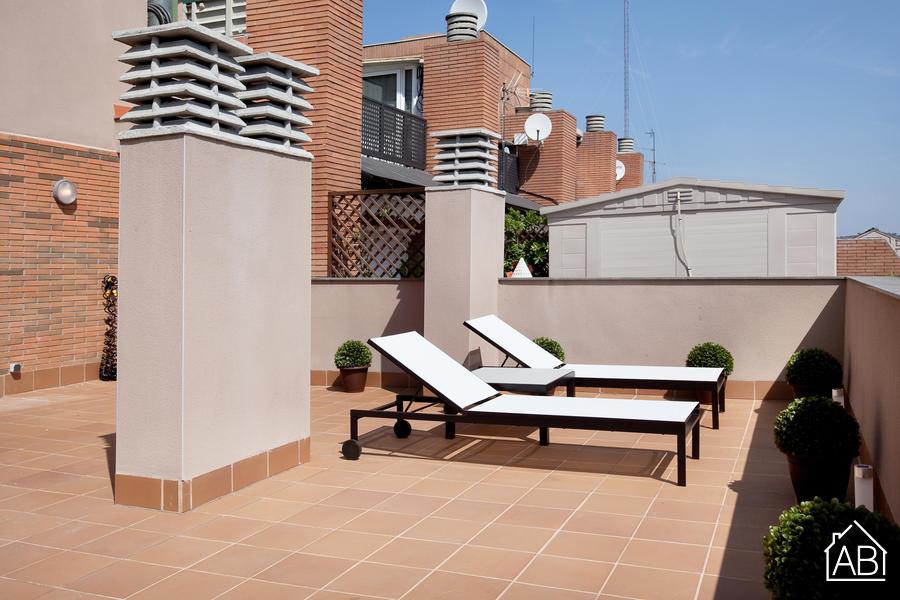 AB Park Guell Apartment - Modern 1-Bedroom Apartment near Park Güell with a Balcony  - AB Apartment Barcelona