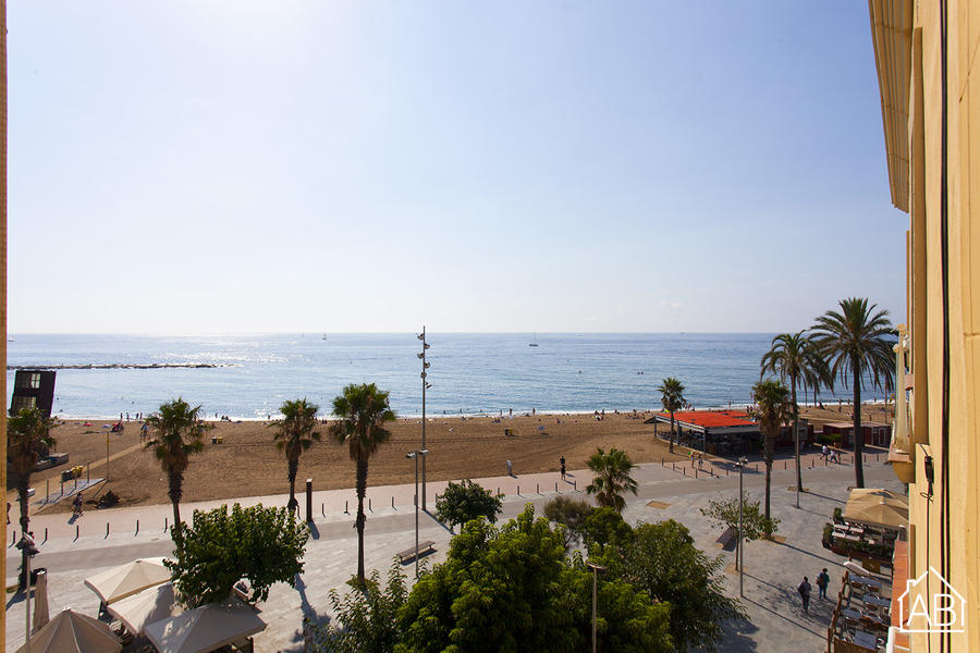 AB Barceloneta Sta Clara Sea Views I - Appartement charmant pour 2 personnes donnant sur la plage de la Barceloneta  - AB Apartment Barcelona