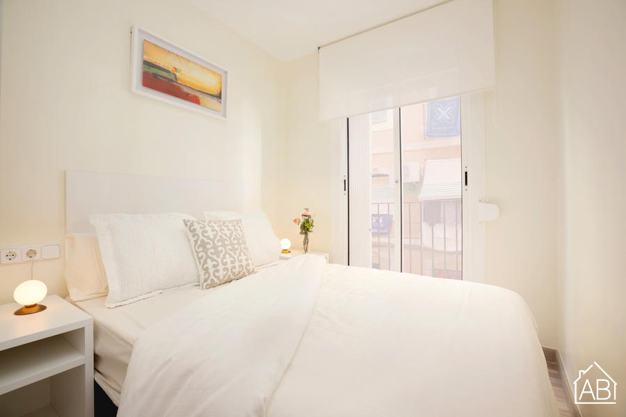 AB Barceloneta Vilajoiosa Beach I - Modern and Bright 2-bedroom Beach Apartment in Barceloneta - AB Apartment Barcelona