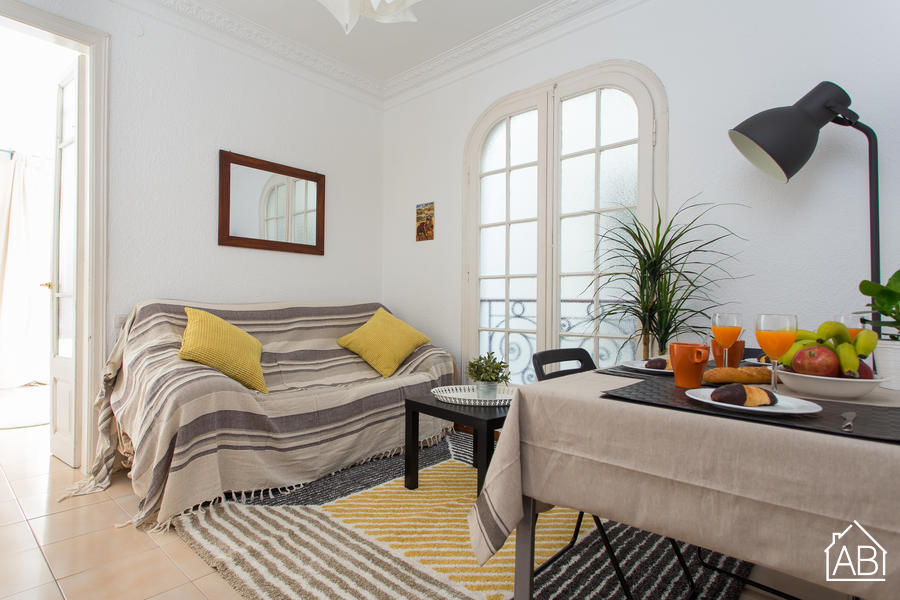 AB Poble Sec - Ricart - Three bedroom apartment in the trendy Poble Sec area - AB Apartment Barcelona