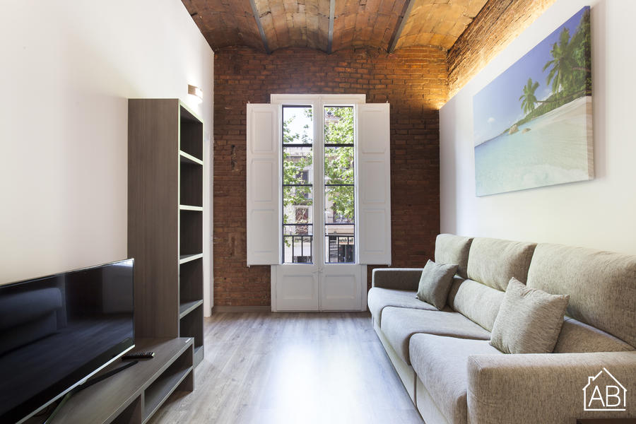 AB Comte d Urgell P-2 - Trendy 3-bedroom Eixample Esquerra Apartment with a Balcony - AB Apartment Barcelona