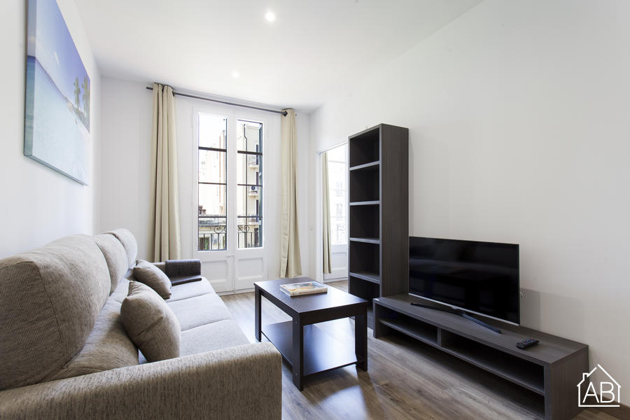 AB Comte d Urgell 2-1 - Stylisches 3-Zimmer Apartment mit Balkon in Eixample Esquerra - AB Apartment Barcelona