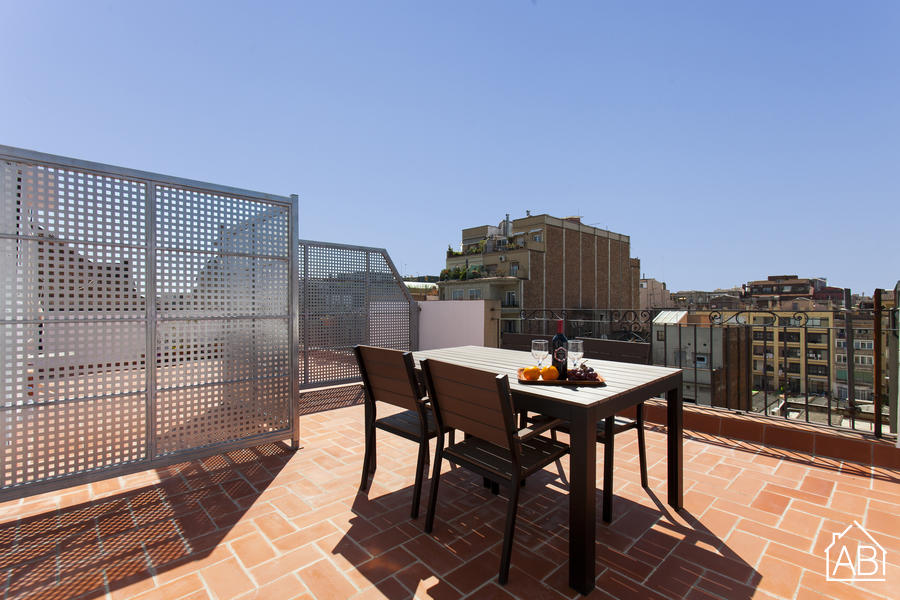 AB Comte d Urgell Attic - Modern 2-bedroom Eixample Esquerra Apartment with a Private Terrace - AB Apartment Barcelona