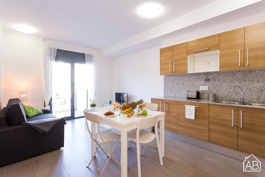 AB Lope de Vega - Bright, one bedroom apartment in Sant Martí - AB Apartment Barcelona