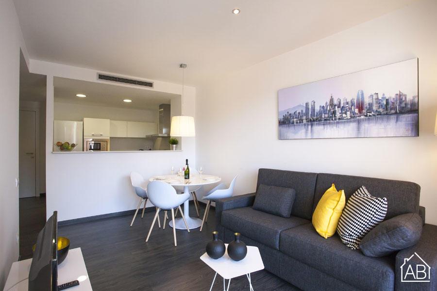 AB Gràcia Park Güell 2-2 - Современные апартаменты с 1 спальней рядом с парком Гуэль с балконом и естественным светом - AB Apartment Barcelona