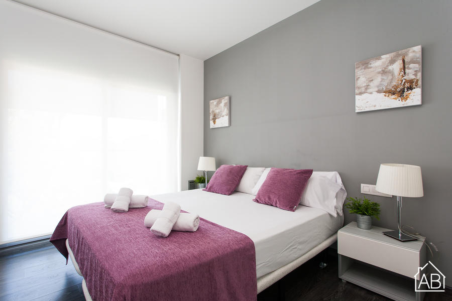 AB Gràcia Park Güell - Stylish 1-Bedroom Apartment near Park Güell with a Balcony and Natural Light - AB Apartment Barcelona