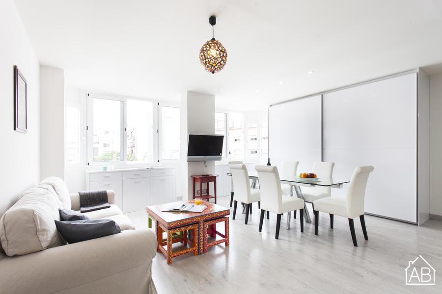 AB GRACIA CONFORT 2-1 - Elegante apartamento para 3 personas en el moderno barrio de Gràcia - AB Apartment Barcelona