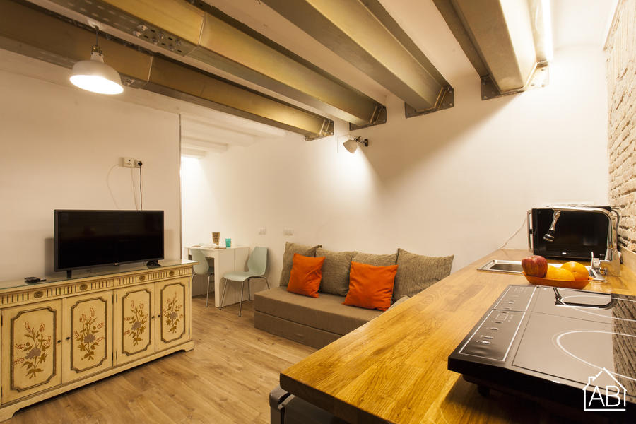 AB Sant Antoni Studio - Cosy Studio Apartment in Sant Antoni, 15 Minutes from Las Ramblas - AB Apartment Barcelona