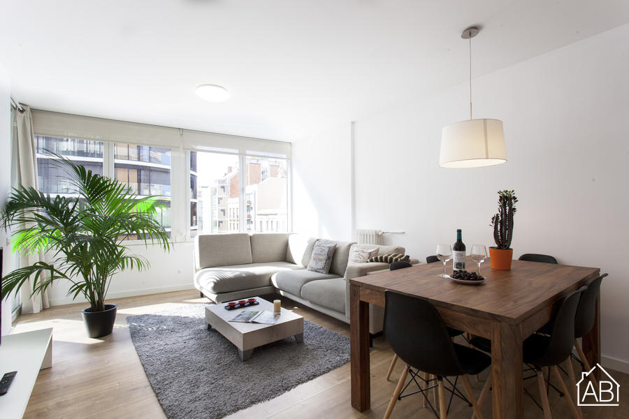 AB SARRIA PREMIUM - Moderno apartamento para 4 en Sarrià-Sant Gervasi  - AB Apartment Barcelona