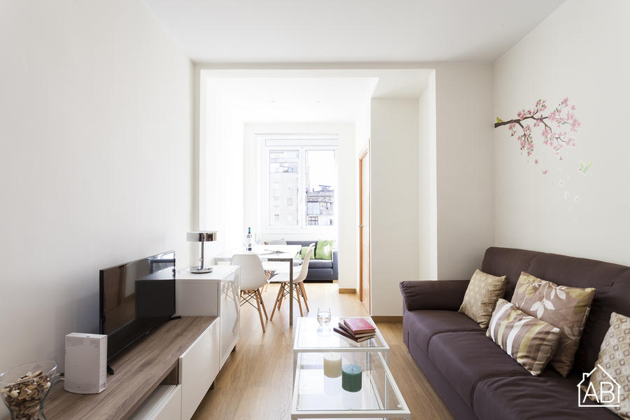 AB URGELL4-1 - Recently refurbished apartment for 5 people in Eixample Left - AB Apartment Barcelona