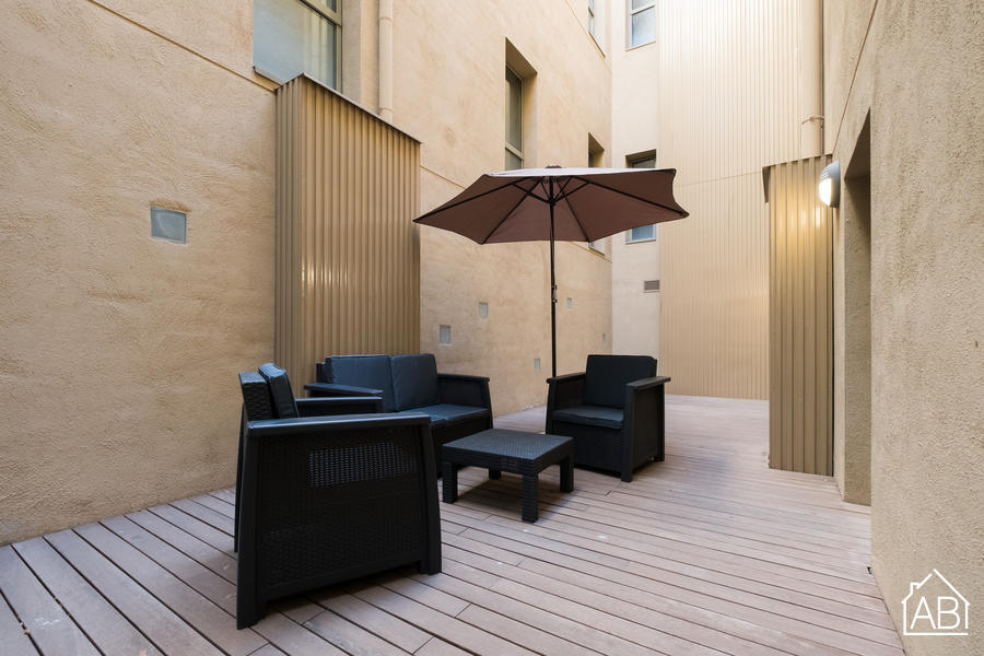 AB Central Oasis 2-3 - Beautiful three-bedroom Apartment with Communal Terrace and Pool in the Gothic Quarter - AB Apartment Barcelona