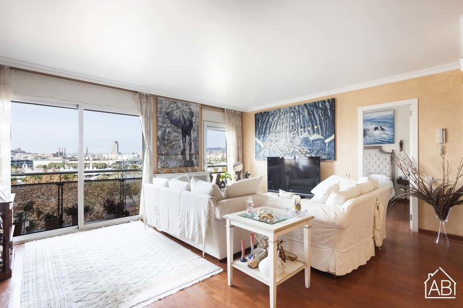 Apartment Passeig de Joan Borbo - For Sale - Traditional Apartment near the Beach with Views of Port Vell  - AB Apartment Barcelona