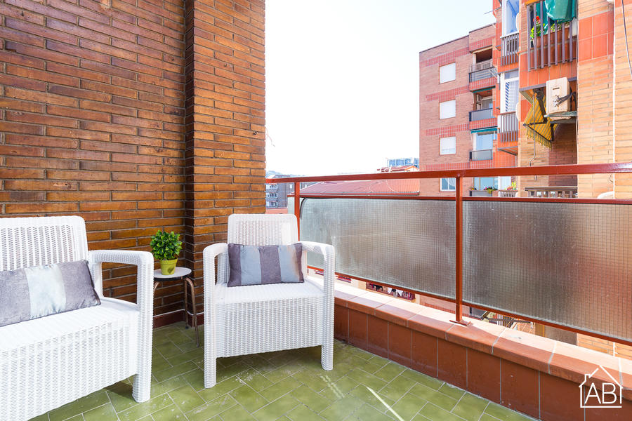 AB PARAL.LEL MARITIM 6-5A - Paral.lel 2 bedroom apartment near the sea - AB Apartment Barcelona
