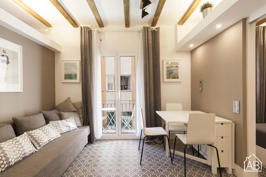 AB Barceloneta Soria VI - Apartamento elegante para 3 cerca de la playa - AB Apartment Barcelona