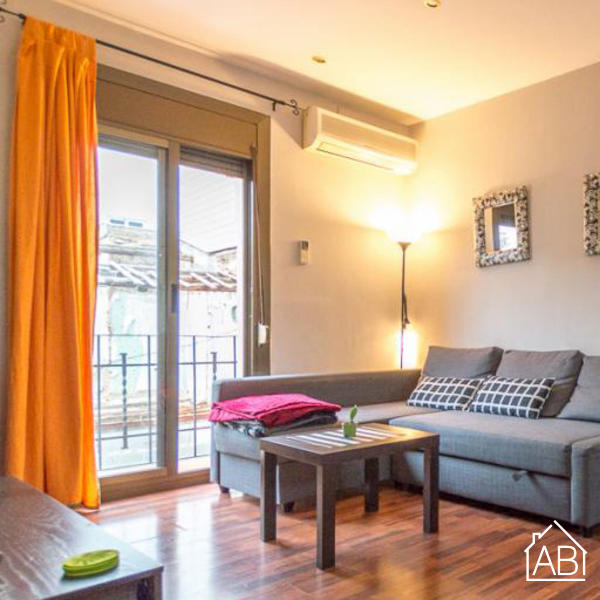 AB CAMP NOU CONFORT - Eigen balkonappartement voor 6 personen in Sants - AB Apartment Barcelona