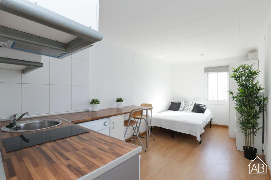 AB Rambla del Raval Sant Bartolomeu - Appartement confortable avec une chambre dans le quartier du Raval - AB Apartment Barcelona