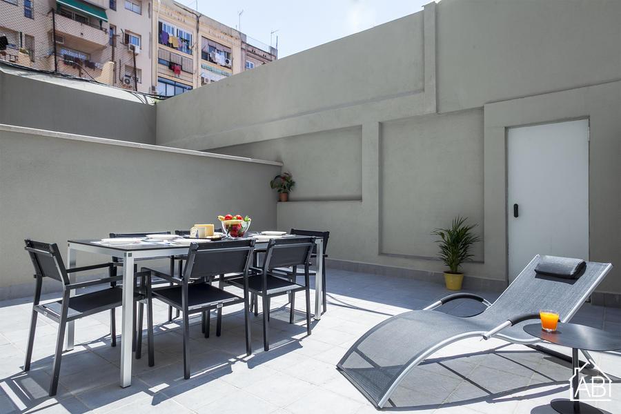AB Bailen Apartment B1 - Premium 3-bedroom Apartment near Passeig de Gràcia with a Private Terrace - AB Apartment Barcelona