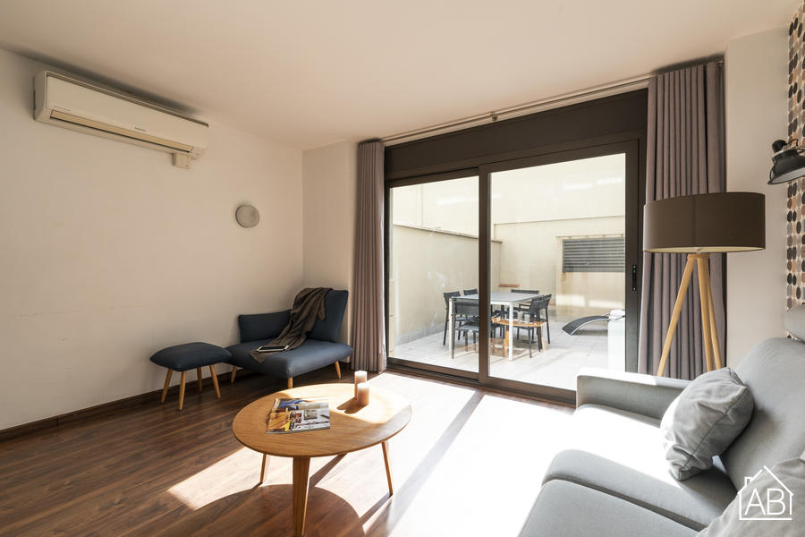AB Bailen Apartment B2 - Beautiful 2-bedroom Duplex Apartment in Eixample  - AB Apartment Barcelona