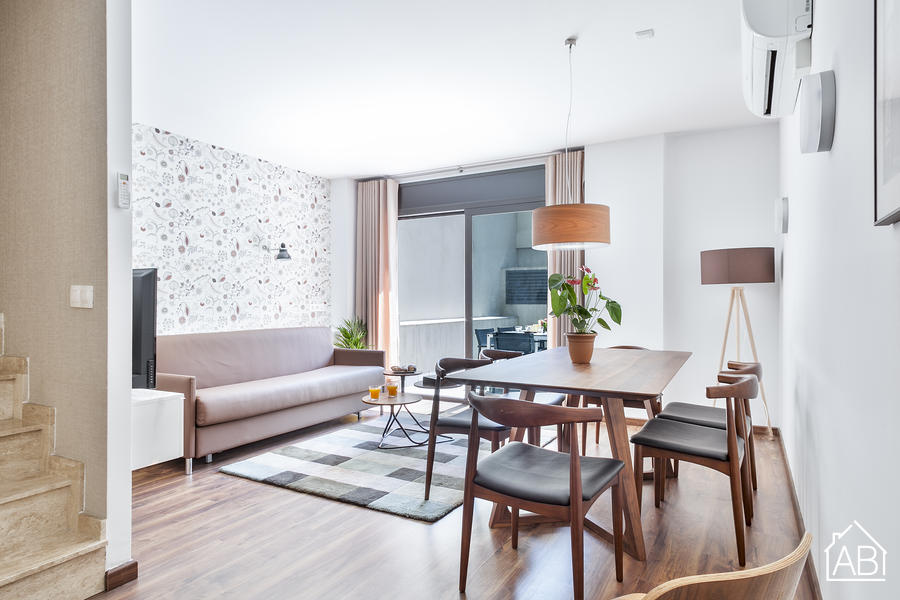 AB Bailen Apartment B3 - Lovely 2-bedroom Duplex Apartment in Eixample - AB Apartment Barcelona
