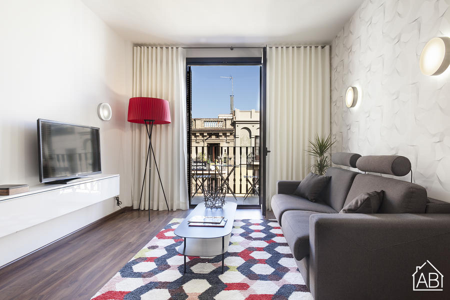 AB Bailen Apartment 1.1 - Wonderful 2-bedroom Apartment in Eixample with a balcony - AB Apartment Barcelona