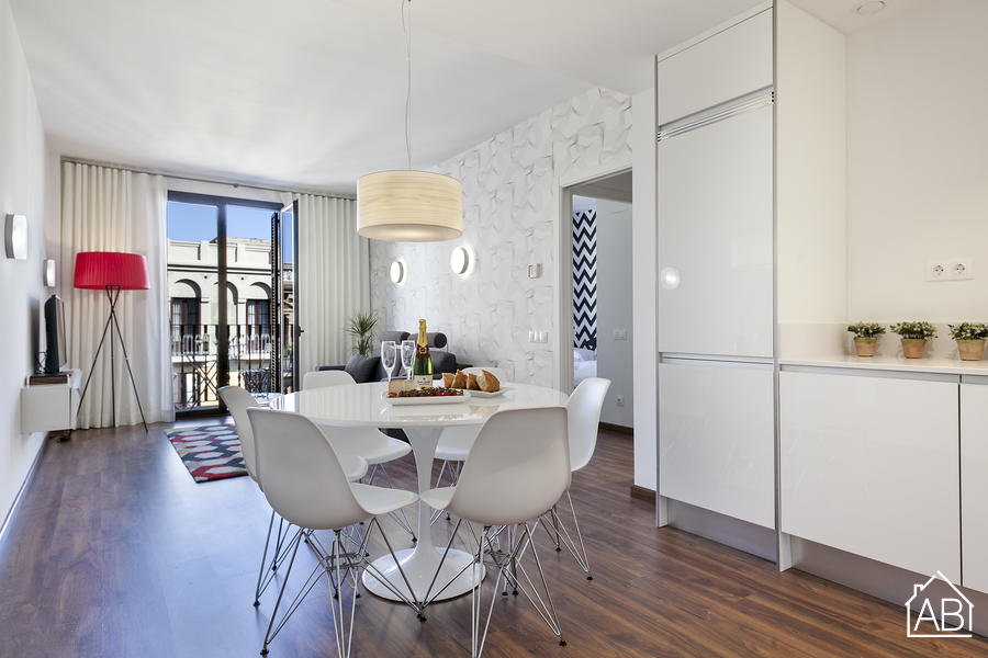 AB Bailen Apartment 5.1 - Trendy 2-bedroom Apartment in Eixample with a balcony - AB Apartment Barcelona