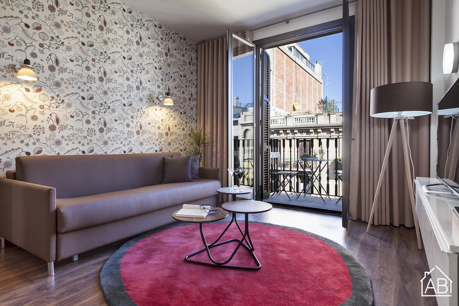 AB Bailen Apartment 2.2 - Elegant 2-bedroom Apartment in Eixample with a balcony - AB Apartment Barcelona