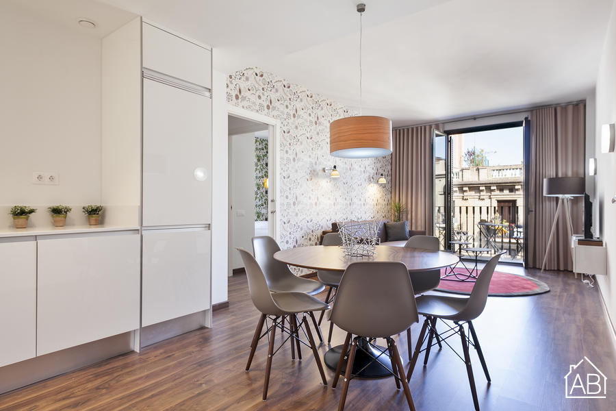 AB Bailen Apartment 4.2 - Contemporaneo Appartamento con 2 Camere e Balcone nell´Eixample - AB Apartment Barcelona