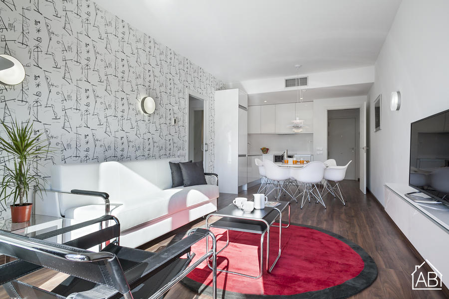 AB Bailen Apartment 1.3 - Luxury 2-bedroom Apartment in Eixample with a terrace  - AB Apartment Barcelona