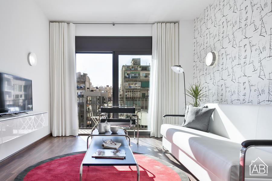AB Bailen Apartment 2.3 - Wonderful 2-bedroom Apartment in Eixample with a terrace  - AB Apartment Barcelona