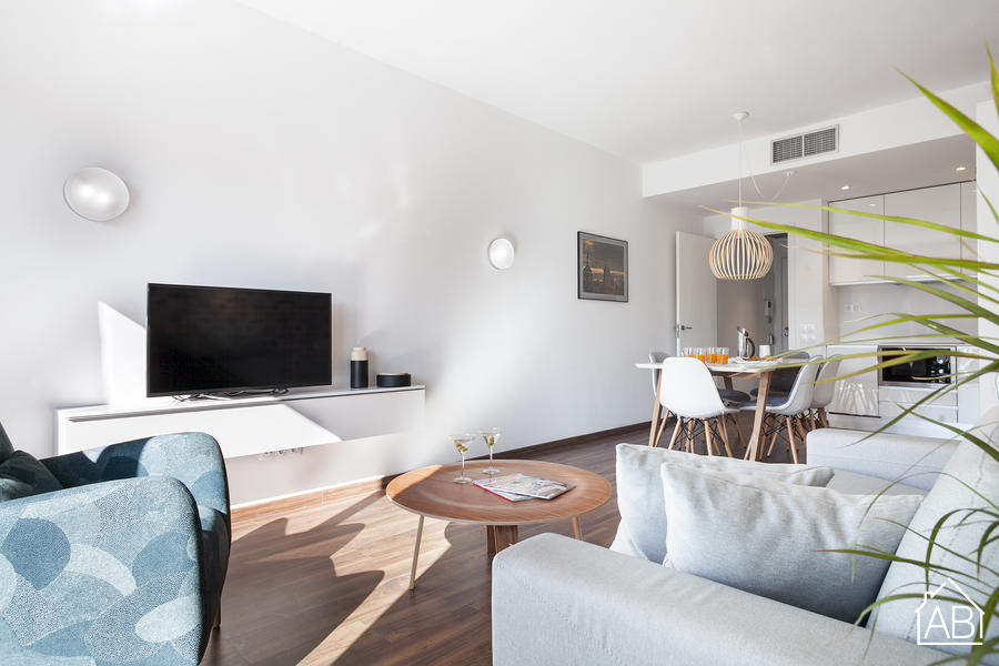 AB Bailen Apartment 2.4 - Contemporary 2-bedroom Apartment in Eixample with a terrace AB Apartment Barcelona -