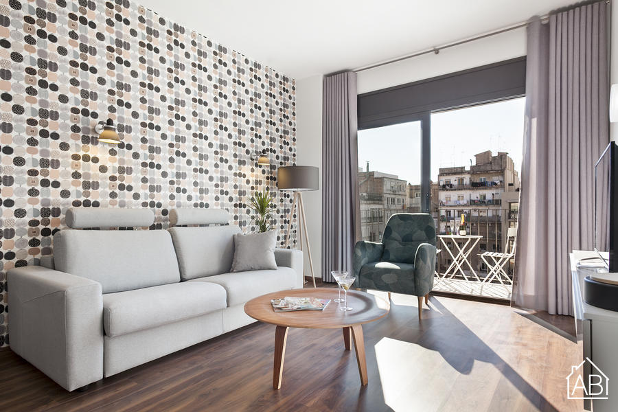 AB Bailen Apartment 5.4 - Elegantes 2-Zimmer Apartment mit Terrasse in Eixample  - AB Apartment Barcelona