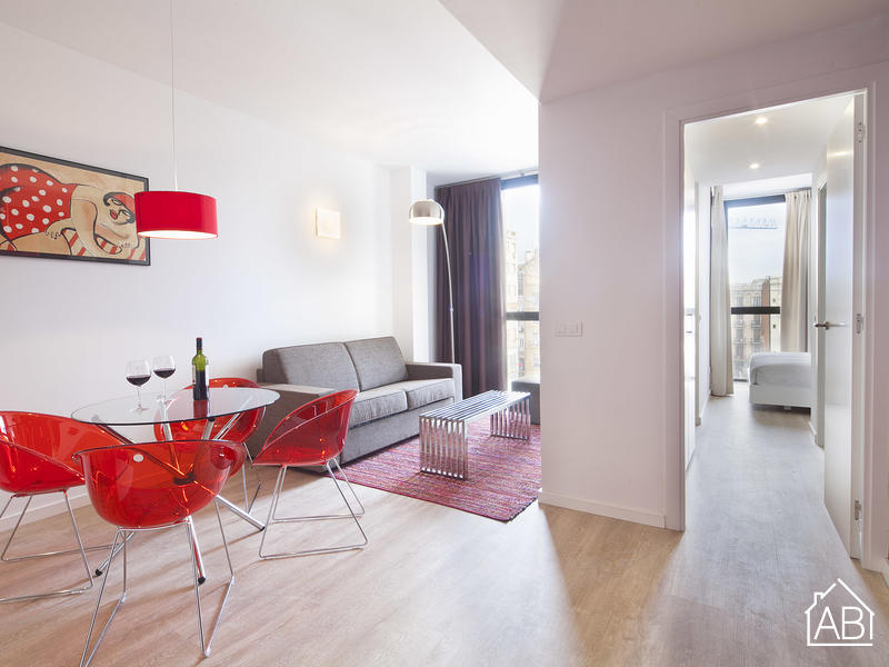 AB Girona Apartment 32 - Modern 1-bedroom Apartment for 4 near Passeig de Gràcia - AB Apartment Barcelona