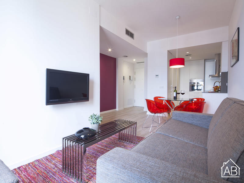 AB Girona Apartment 52 - 可爱的一卧室公寓靠近Passeig de Gràcia大道,可供4人入住 - AB Apartment Barcelona