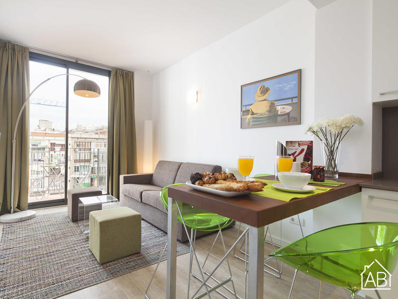 AB Girona Apartment 13 - Great Apartment for 4 with a Terrace near Passeig de Gràcia - AB Apartment Barcelona