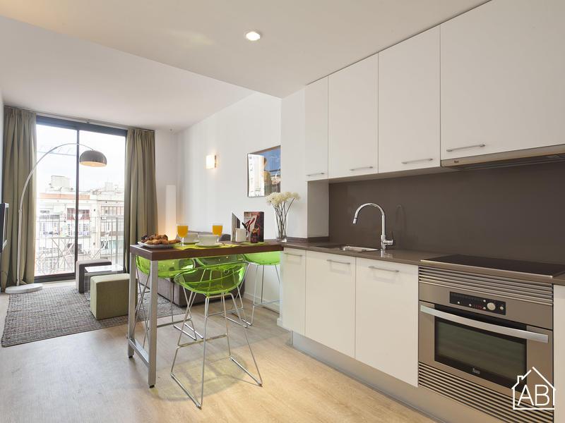 AB Girona Apartment 23 - Premium-Apartment für 4 Gäste mit Terrasse unweit des Passeig de Gràcia - AB Apartment Barcelona